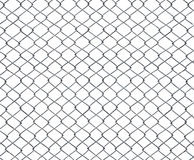 Mesh of steel wires isolated Stock Images