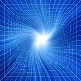 Blue Vortex Mesh Background Royalty Free Stock Image