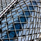 Mesh type of building with glass and metal detail Stock Image