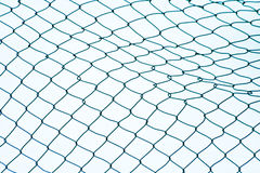 Mesh wire fence Stock Photos