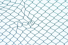 Mesh wire fence patterns Stock Photography