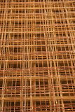 Mesh wire reinforcement mats 2 Stock Images