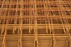 Mesh wire reinforcement mats 4 Royalty Free Stock Photo