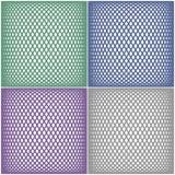 mesh wzory ustawiających Zdjęcia Royalty Free