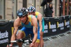 Meshcheryakov, Taccone cycling-2 Lizenzfreie Stockfotografie