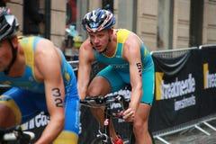 Meshcheryakov, Taccone cycling-1 Royalty Free Stock Images
