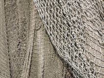 Meshes of a fishing net to use as background Royalty Free Stock Photos