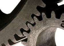 Meshing Gears Royalty Free Stock Images