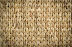 Meshwork of wooden reed wicker texture background Stock Photos