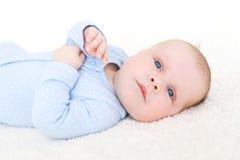 2 mesi di neonata Fotografie Stock Libere da Diritti