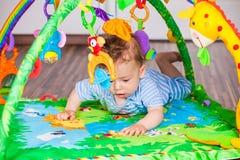 7 mesi di neonato Fotografia Stock