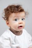 8 mesi felici del neonato Immagini Stock