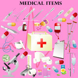 Medical tools icons  Stock Photography