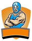 Mesican wrestler Stock Image