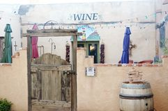 mesilla新墨西哥酒和餐馆 库存图片