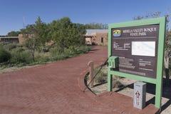 Mesilla谷树丛入口 库存照片