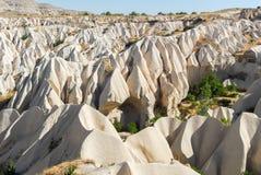 Meskendir-Tal, Cappadocia, die Türkei stockfoto