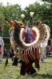 Meskwaki PowWow - voller Regalia Stockbilder