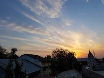 Mesmerising заход солнца Стоковое Изображение RF