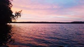 Mesmerizing летнее время воды розовое ослабляя стоковое фото