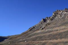 Mesmerizing dry landscape in Himalayan mountain region of Leh Ladakh Royalty Free Stock Image