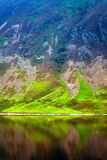 Mesmerizing lake and hill edge. A beautiful lake and hill, calm and peaceful Royalty Free Stock Photo