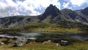 Mesmerizing lake worth seeing Stock Photo