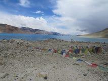 Mesmerizing view of Pangong Lake Stock Photography