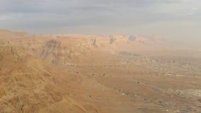 Mesmeryzować pustynnego widok Obraz Royalty Free