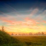 Mesmo antes do nascer do sol Fotografia de Stock