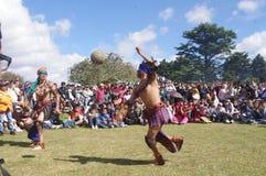 Mesoamerican игра в мяч Стоковые Фото