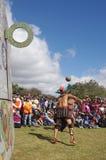 Mesoamerican ballgame Royalty Free Stock Photo
