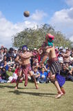 Mesoamerican ballgame. Performed in Central America, Maya civilization Royalty Free Stock Photography
