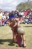 Mesoamerican ballgame Royalty Free Stock Image