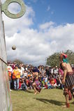 Mesoamerican ballgame. Performed in Central America, Maya civilization Stock Photo