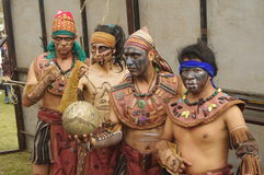 Mesoamerican ballgame. Performed in Central America, Maya civilization Stock Images