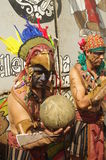 Mesoamerican ballgame. Performed in Central America, Maya civilization Royalty Free Stock Photos