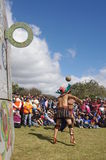 Mesoamerican Ballspiel Lizenzfreies Stockfoto