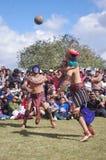 Mesoamerican match Royaltyfri Fotografi