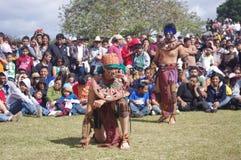 Mesoamerican match Royaltyfria Foton