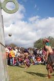 Mesoamerican match Arkivfoto