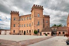 Mesola, Ferrara, Emilia-Romagna, Italië: het oude kasteel Royalty-vrije Stock Afbeelding