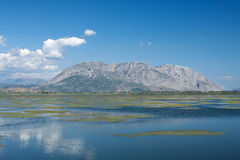 Mesologgi Lagoon, Greece Royalty Free Stock Photo