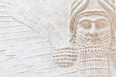 Mesopotamian Art. Dating back to 3500 B.C., Mesopotamian art war intended to serve as a way to glorify powerful rulers and their connection to divinity Stock Images