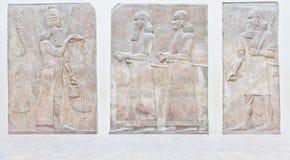 Mesopotamische Kunst stockfoto