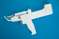 Mesotherapy gun electronic with syringe Stock Images