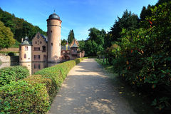 Mespelbrunn castle in Germany Royalty Free Stock Photos