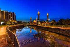 Mesquita ampuan do jemaah de Tengku fotos de stock