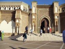 Mesquita antiga em Agadir, Marrocos Em janeiro de 2012 imagem de stock