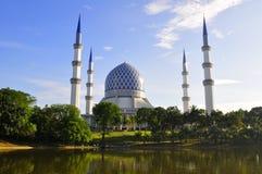 A mesquita azul foto de stock royalty free